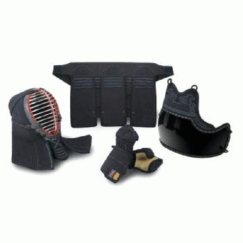 【栄光武道具】6ミリ織刺 少年用とんぼ 防具セット