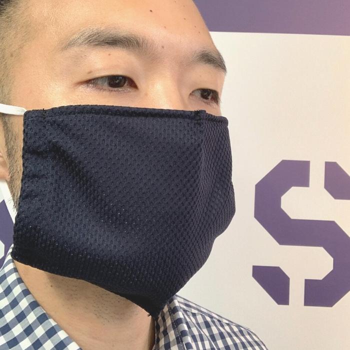 【面マスク】面用インナーマスク 抗菌薄一重メッシュ 日本剣道具製作所