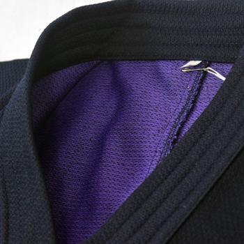 【安信商会】金達磨 剣道衣(腰下ダイヤ織)