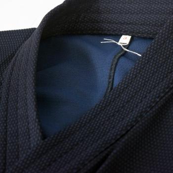 【安信商会】道着 青達磨 剣道衣(腰下ダイヤ織)紺