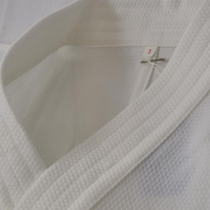 【安信商会】道着 青達磨 剣道衣(腰下ダイヤ織)白