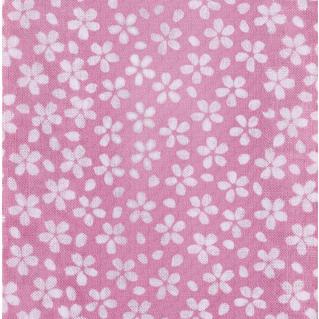 面手拭い (ピンク小桜) 日本製